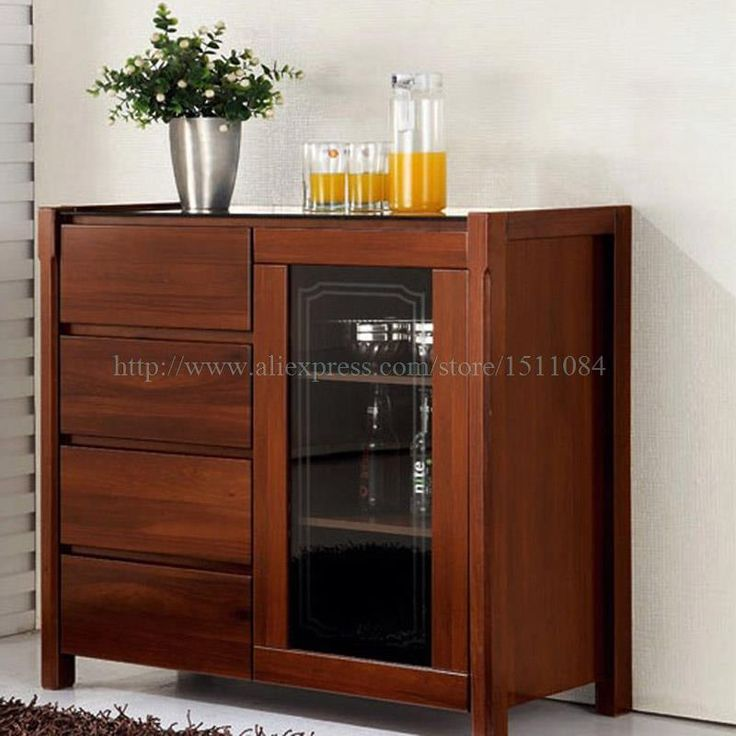 85 cm Restaurant Storage Cabinets parlor tea cabinet style upscale generous glass Sideboard