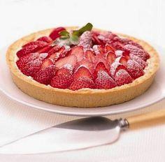 *.* Tarta de frutillas con crema pastelera ^^