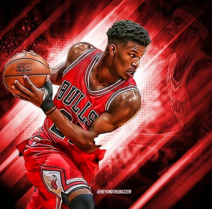 Jimmy Butler Bulls Basketball Wonder Woman Chicago Bulls