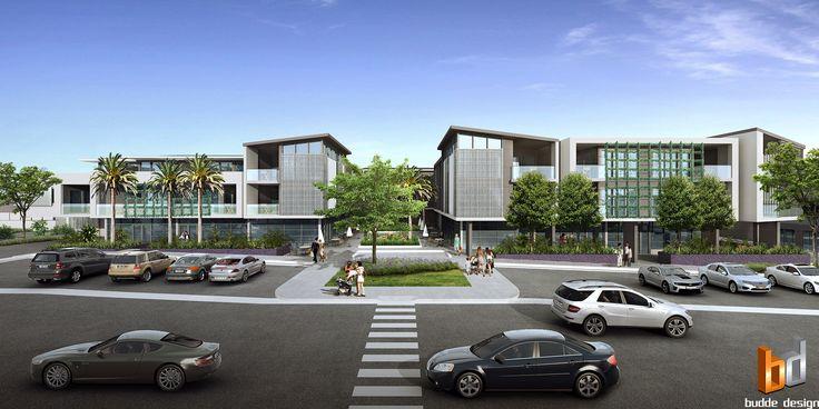 3D external render for a development project - South Creek Road