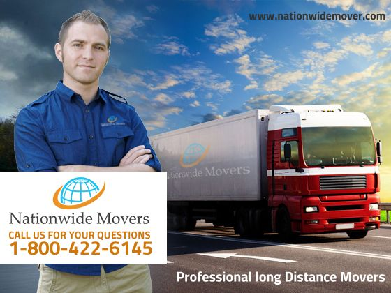 Moving long distance has never been easier. Long-distance moves are different than local moves  because they involve moving goods across state lines. Long-distance moves require special authority to transport customers' items from one state to another.  Nationwide Movers the moving company for all your needs, long distance, movers.