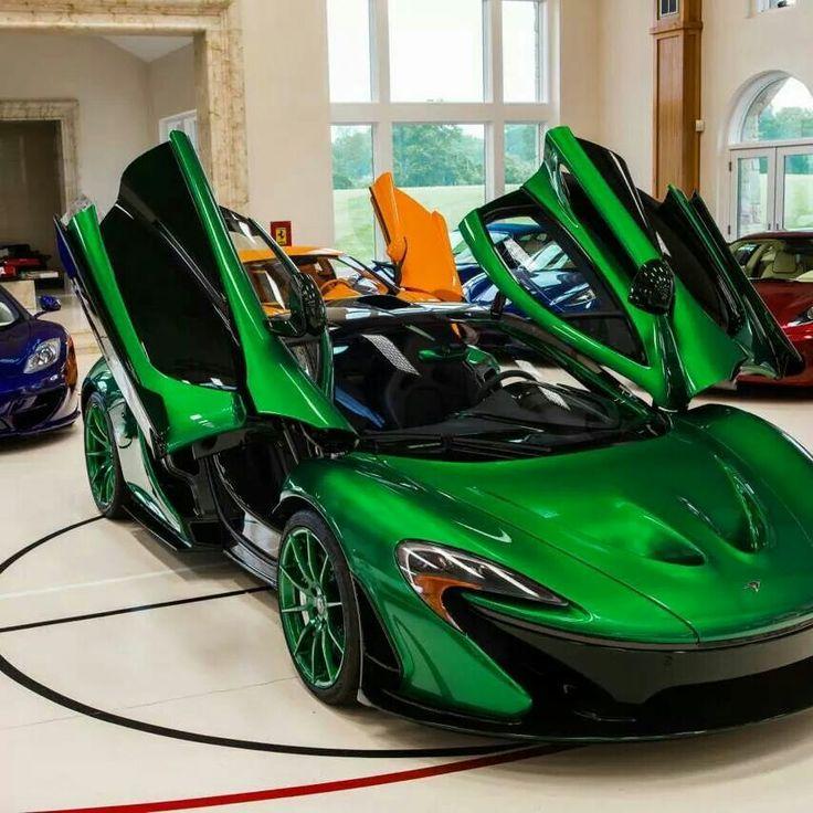 Candy Apple Green McLaren!