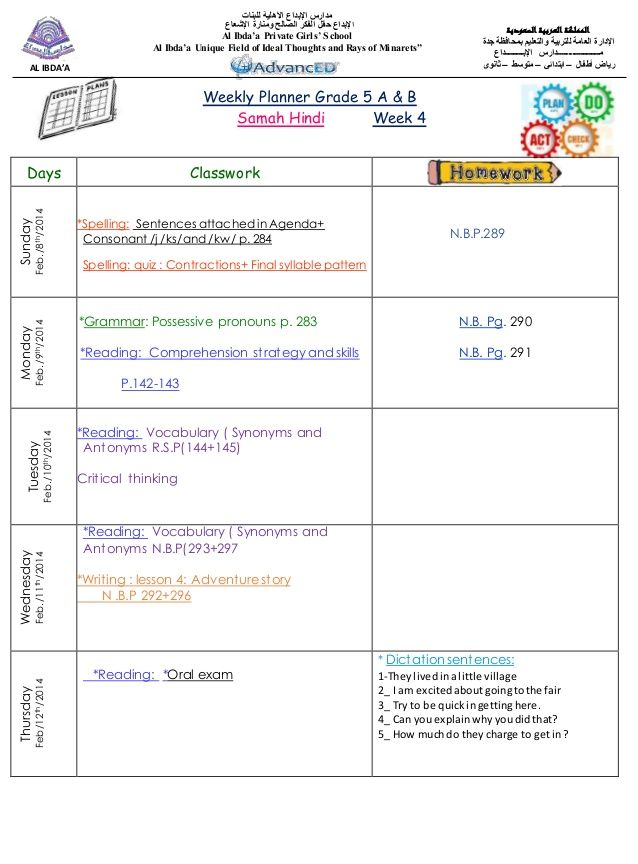 Daily Lesson Plan Template Word - Fiveoutsiders - Daily Lesson Plan Template Word