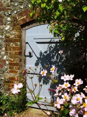 Garden door at Charleston Farmhouse