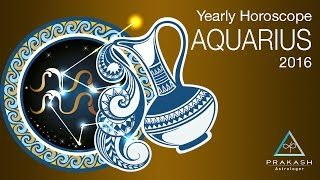 Aquarius Yearly Horoscope 2016 In Hindi - Aquarius Visit http://prakashastrologer.com/aquarius-yearly-horoscope to learn more.  Download your Aquarius Yearly Horoscope brochure containing your Tasks, Chanting and Precautions for this week.  Are you following the right moon sign? Visit http://prakashastrologer.com/astrology-shop/astrology-services/whats-my-moon-sign/ to learn more.  Aquarius Related Horoscopes:  Aquarius Weekly Horoscope…