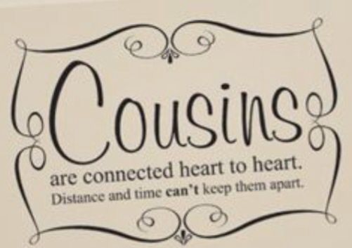 1000+ Cousin Quotes On Pinterest