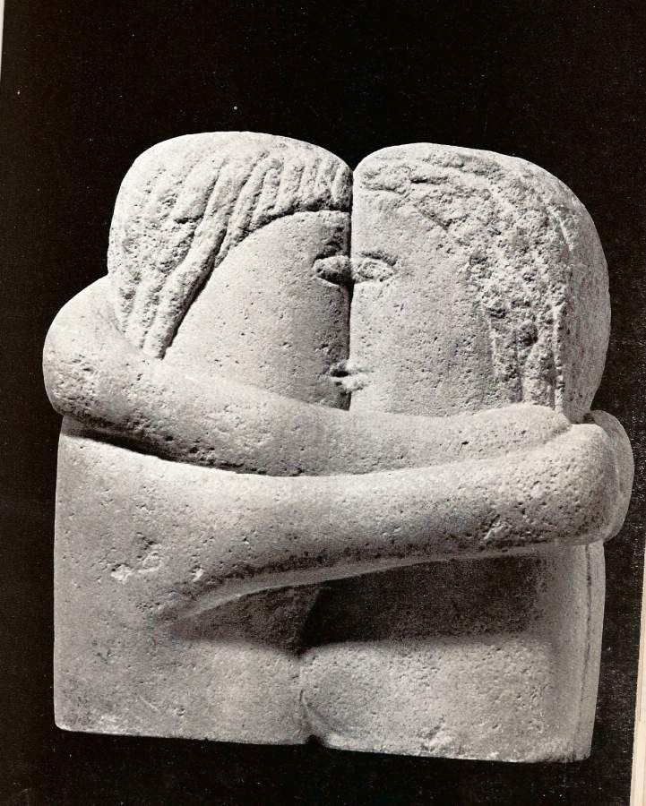 Constantin Brancusi - The Kiss