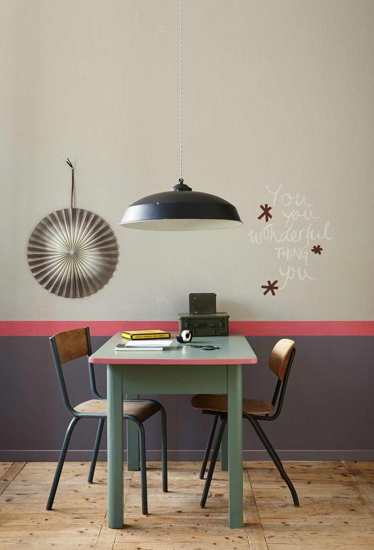 25 beste idee n over grijze gang op pinterest gangen hal verfkleuren en hal verf - Grijze verf leisteen ...