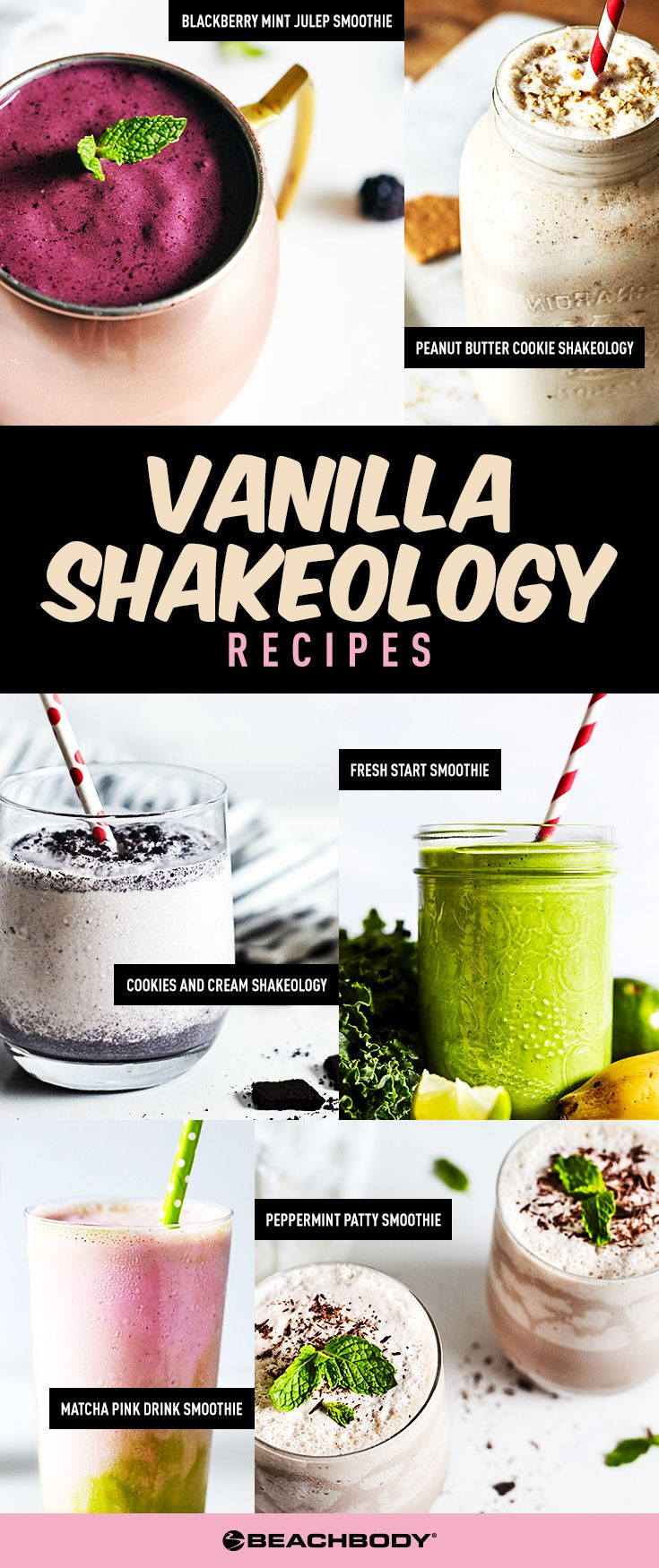 These Vanilla Shakeology recipes for fruity smoothies, dessert smoothies, and everything in between prove that vanilla is anything but basic.