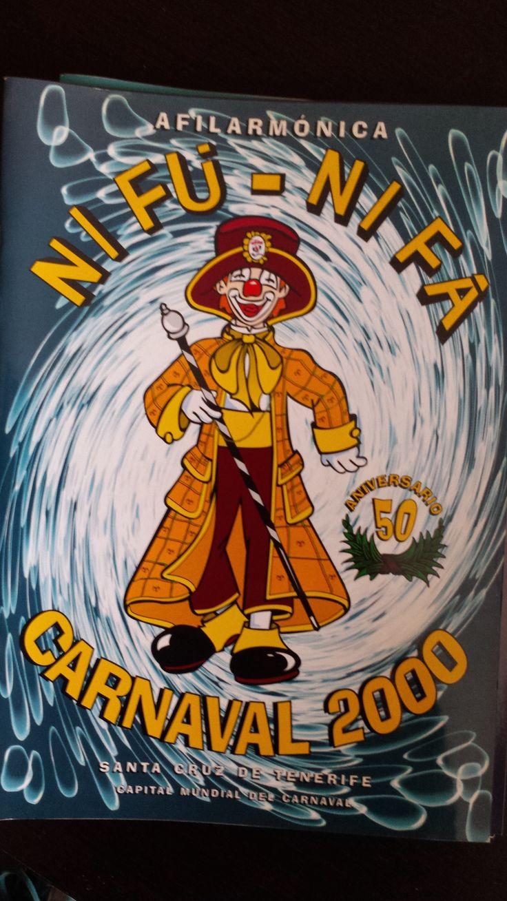Cancionero Nifú nifá año 2000. Carnaval de Santa Cruz de Tenerife