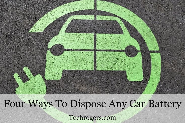 Four Ways To Dispose Any Car Battery  Batteries of all types including car batteries have definite shelf life after which you have no other option but to dispose them off. However, we have to bear in mind that disposal of batteries should be done carefully given the fact that they are toxic and poisonous. They are not exactly biodegradable waste and they […] http://amp.gs/nZB6