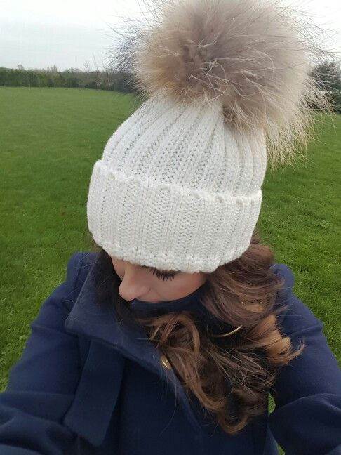Luxury Pom pom beanies Available from Suzanne Ryan Millinery DUBLIN  €30