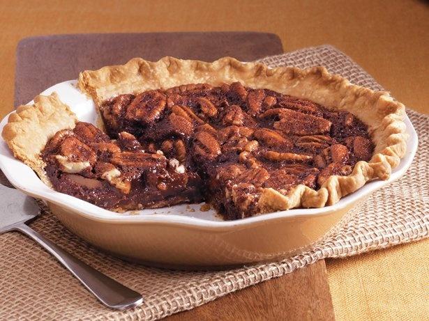 with this bittersweet chocolate pecan pie made using Pillsbury® pie ...