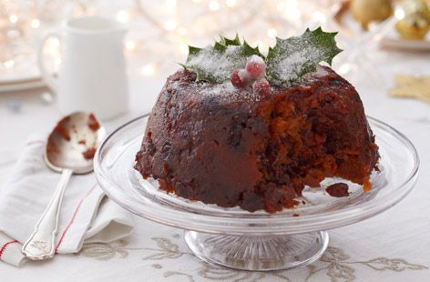 Finish a delicious meal with this impressive gluten-free christmas pudding. Find out how to make this recipe and view hundreds of other recipes at Tesco Real Food today!