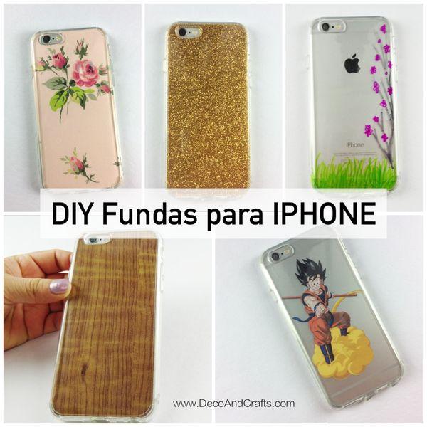 Fundas para Iphone DIY