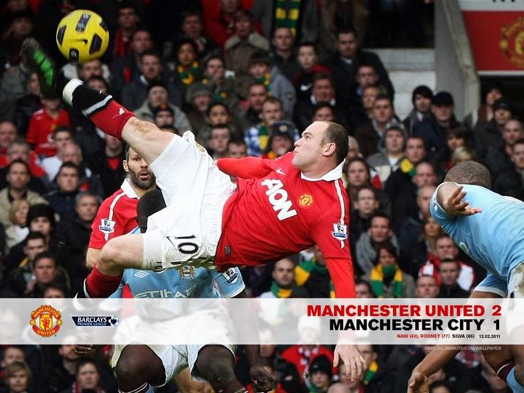 Wayne's goal to beat City