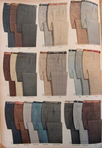 1950s Men's Fashion History for Business Attire                                                                                                                                                      More