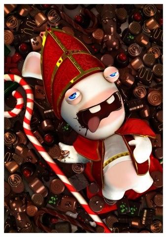 Lapins crétins ! Bwaaaaaaaah.  <3 chocolate