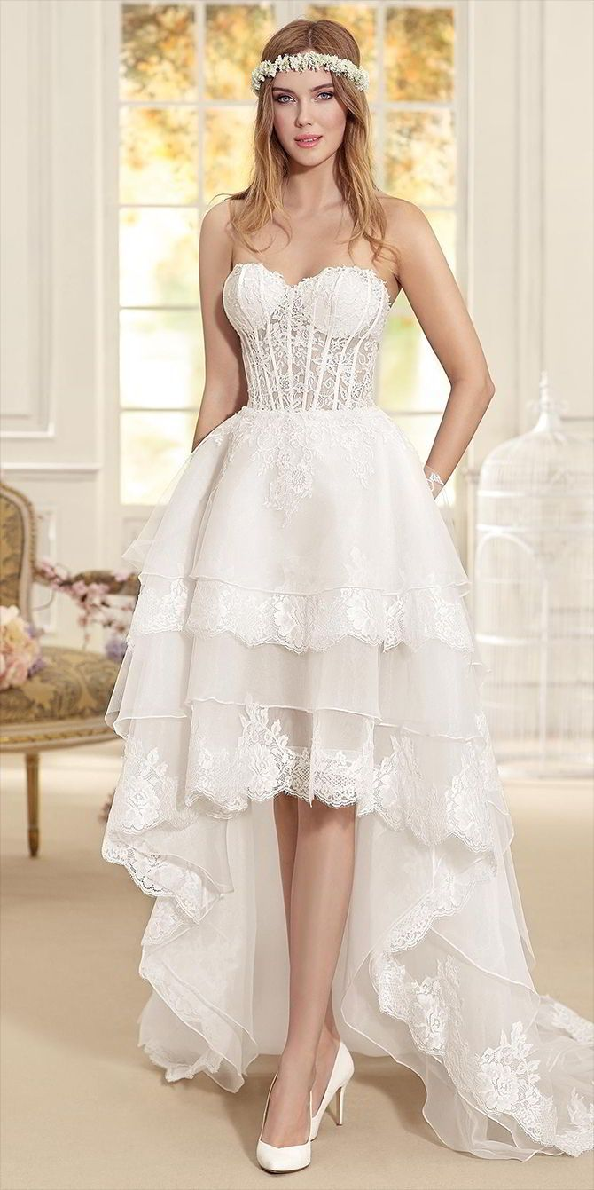 Fancy Fara Sposa Wedding Dress