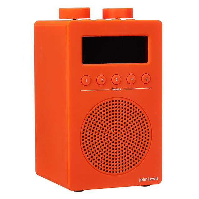 John Lewis Spectrum Solo DAB+/FM Digital Radio at John Lewis