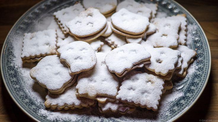 Jam biscuits (spitzbuben)