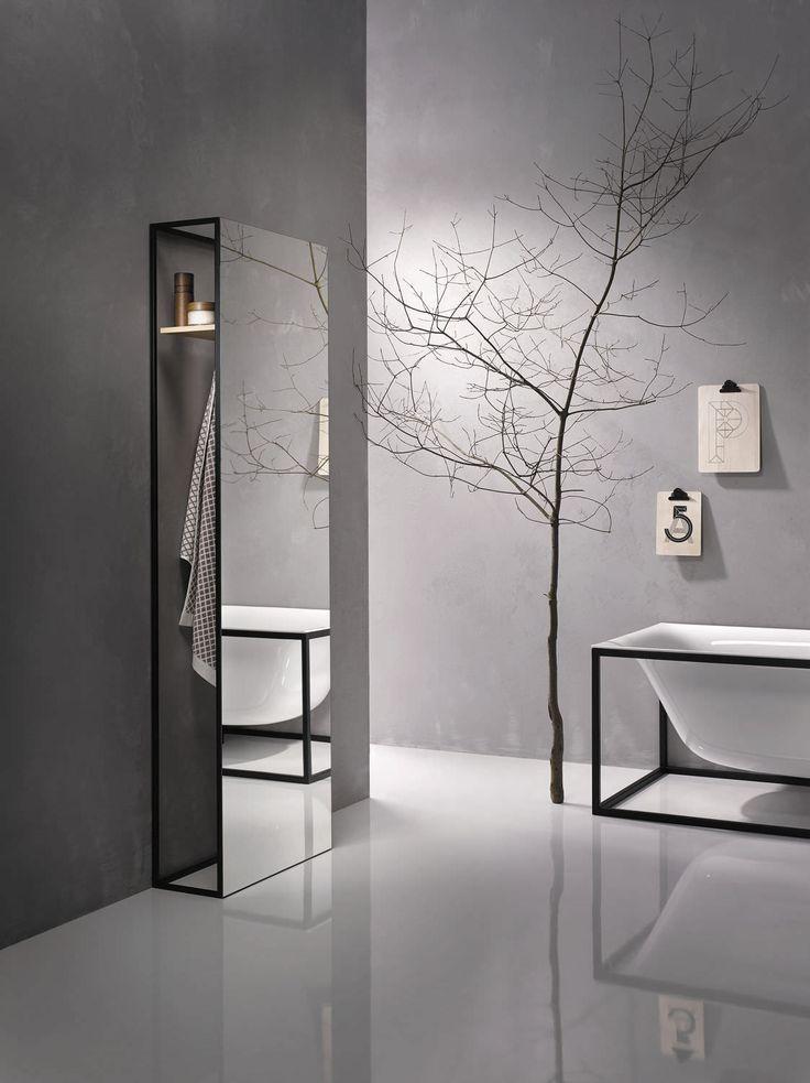 Schön Die besten 25+ Badspiegel mit Regal Ideen nur auf Pinterest  SL18