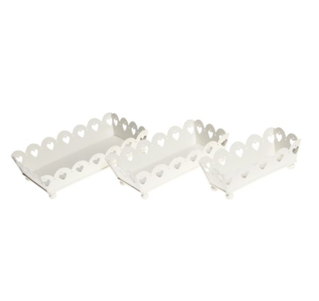 http://www.sassandbelle.co.uk/Decorative Rectangular Tray Set of 3