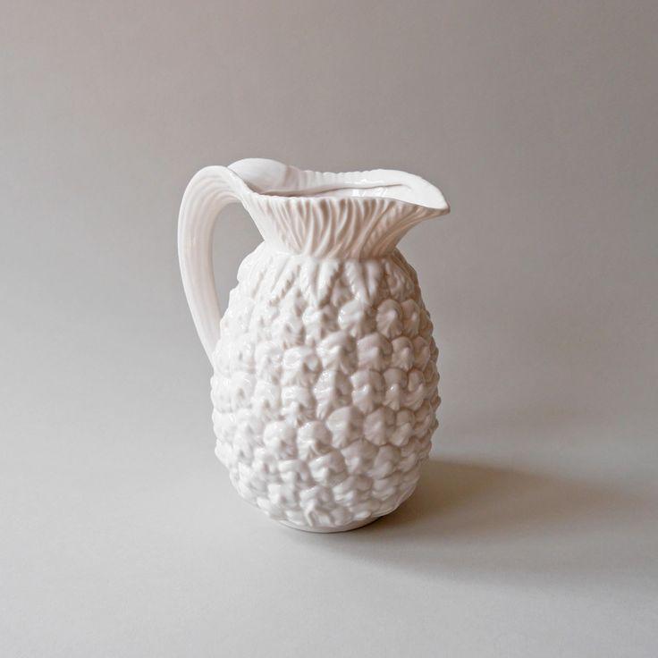 Porcelain Pineapple Jug