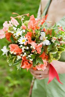 Prairie Sage : Wildflower Bridal Bouquet Trend for Fall 2013