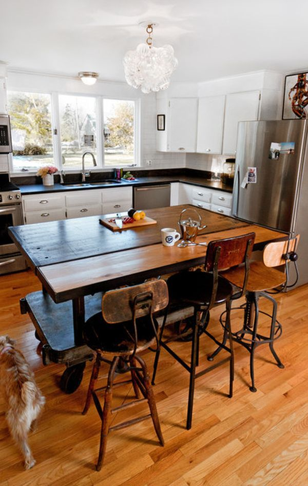 industrial kitchen island wonderful vintage kitchen island chairs design made from wooden material finished with