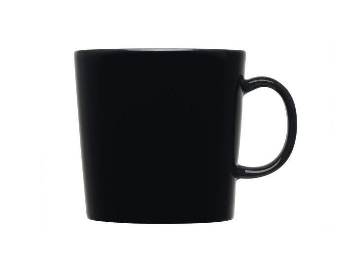 Hrnek Teema 0,4l; vysoký černý