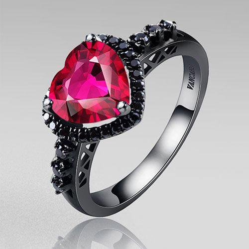 gothic wedding rings 1000 images about wedding rings on 4587