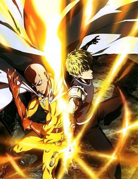 MADHOUSE, One Punch Man, Genos (One Punch Man), Saitama (One Punch Man), Cyborg, Bald, Anime #anime #onepunchman | zerochan.net | www.evilentertainment.ca