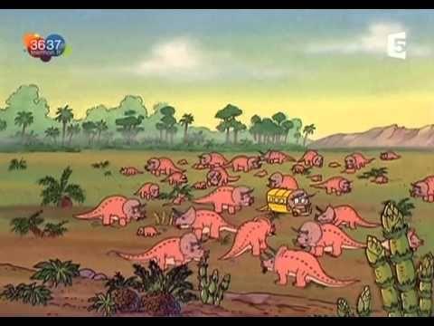 le bus magique - épisode 17 le buso-saurus (dinosaures)