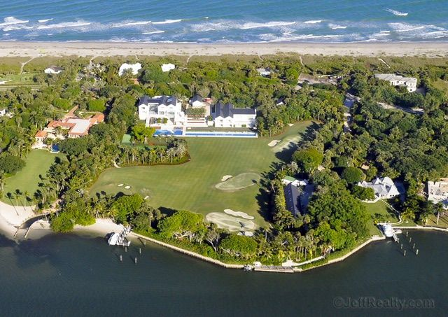 What is Tiger Woods' House and Practice Facility Like?: Jupiter Island House and Golf Practice Facility