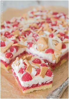 Schneewittchen-Himbeer-Kuchen mit Mascarpone