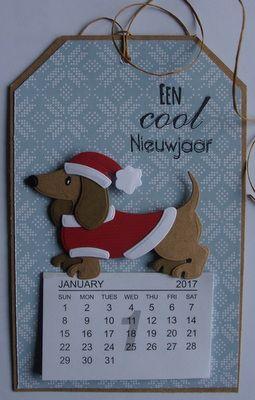 Afbeeldingsresultaat voor kerstkaart dachshund