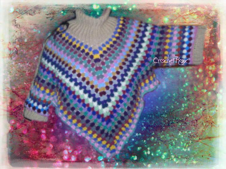 Free Crochet Pattern Poncho With Sleeves : 17 Best images about Crochet Rox the Blog on Pinterest ...