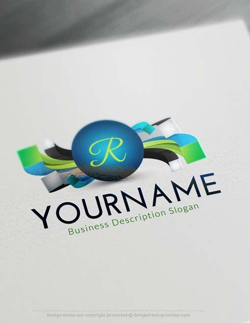 Online Create Modern 3D Logo with the best Free Logo Creator