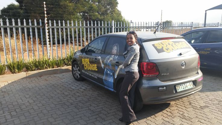 """Zita had this to say about the campaign: """"Ported to Cell C and loving the SupaCharge benefits!Thanks Brandyourcar.com for an AWESOME campaign""""... Thank you Zita!"""