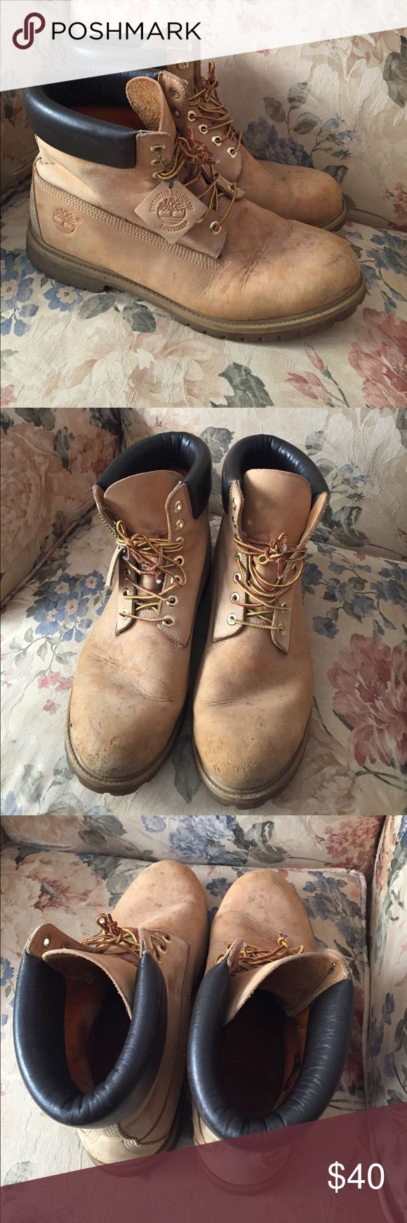 Timberland 6 inch premium wheat NUBUCK size 13 Very nice boots for sale offer up ! Timberland Shoes Boots