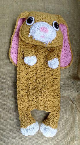 Will the bunny lovey blanket crochet pattern (not free)