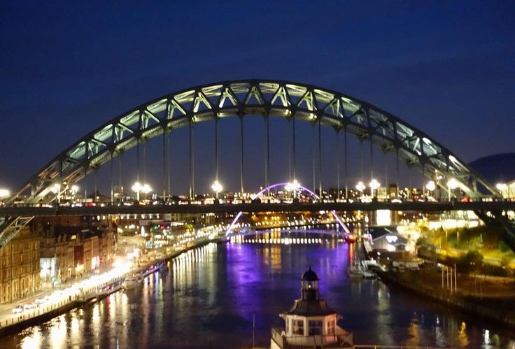 This is my favourite view of Newcastle and how pretty is it at night  . . . #newcastle #newcinthesky #northeast #beautifulview #millemiumbridge #gateshead #baltic #tynebridge #myhometown #thecityilove #tbloggers #travel #travelgram #instatravel #instagood #beauty #fromwhereistand #fromabove #eventsinthesky #cloudporn #crazyclouds #sky #outside #skyporn #architecturelovers #architectureporn #lookingup
