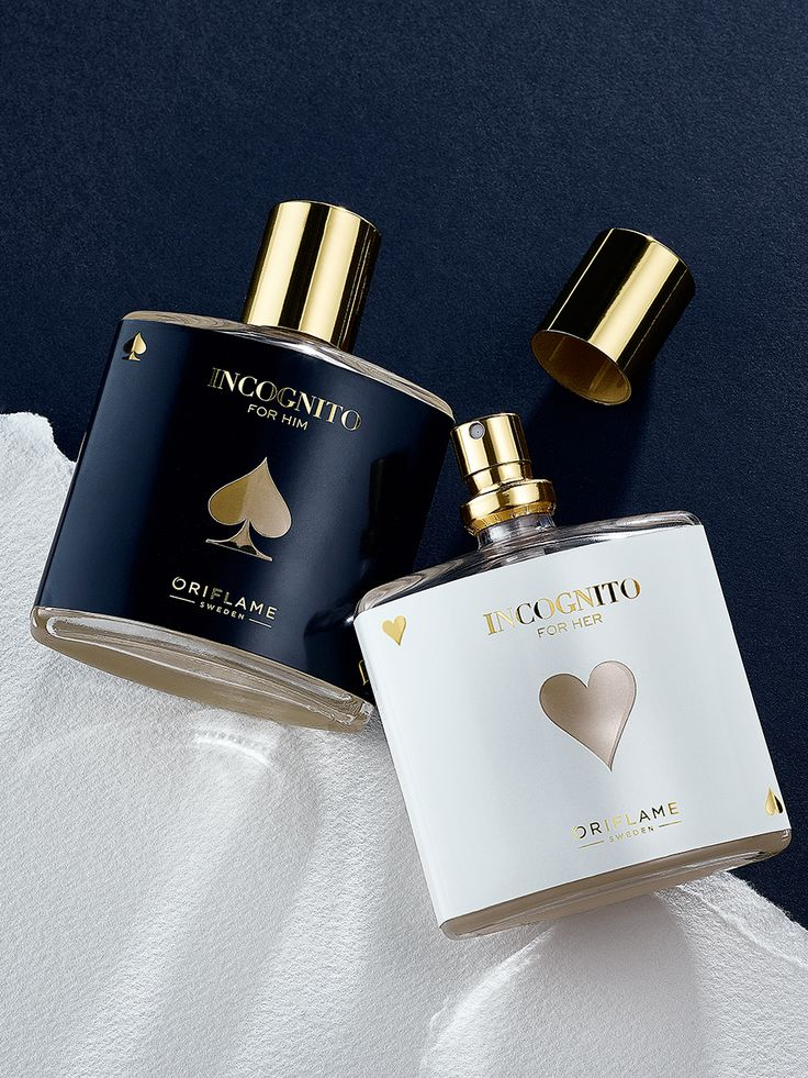 Let the game begin. Incognito for her and him. #fragrance #oriflame