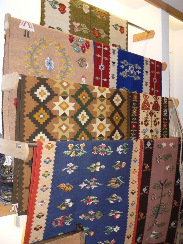 Romanian hand made carpets - Galerie MTR | Muzeul National al Taranului Roman