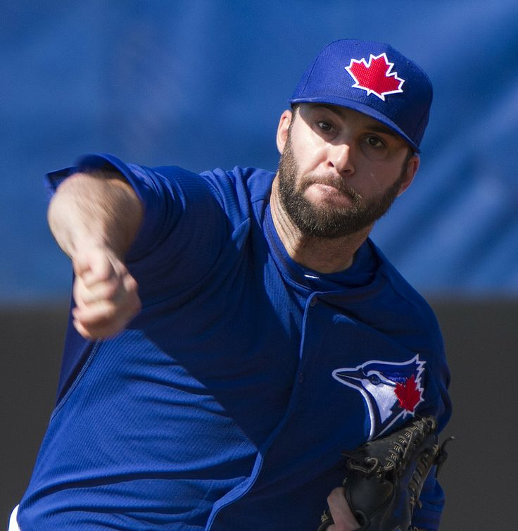 Beefed-up Brandon Morrow works in the bullpen.