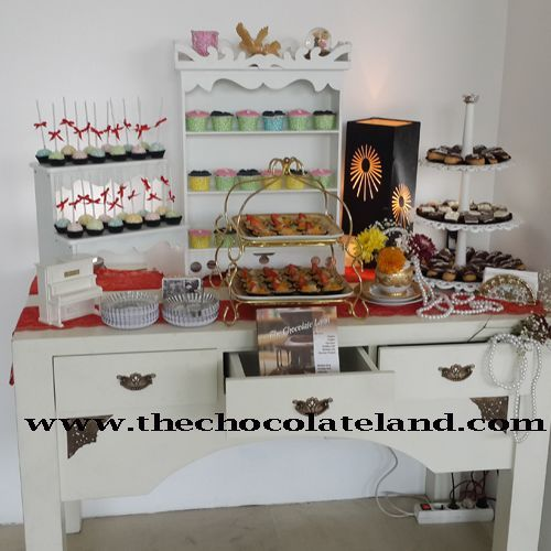 Foto kue pernikahan oleh The Chocolate Land