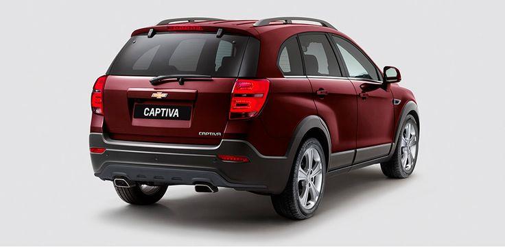 Chevrolet Captiva - Descubre el diseño exterior de tu camioneta familiar