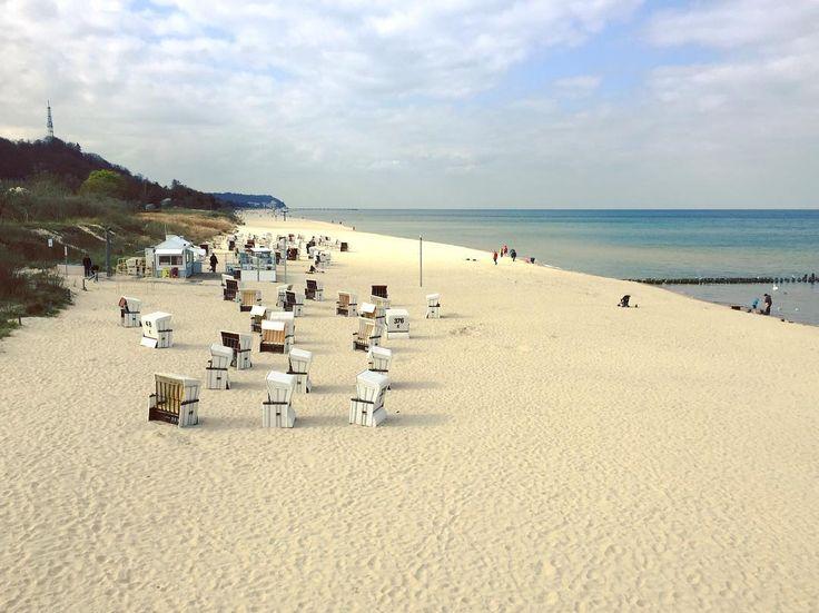 Beach day.  #usedom #heringsdorf #strand #beach #ocean #balticsea