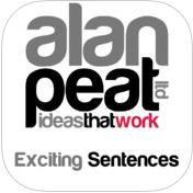 Education App: Alan Peat's Exciting Sentences